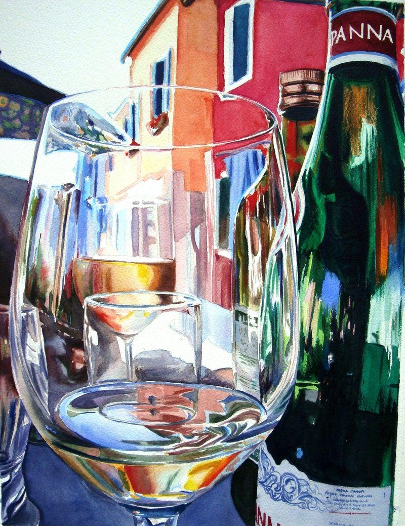 Glasspainting