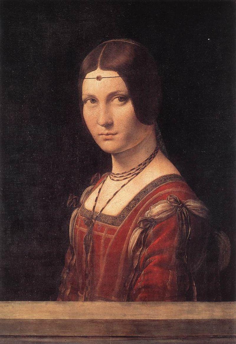 Da-Vinci_1490_La-Belle-Ferroniere