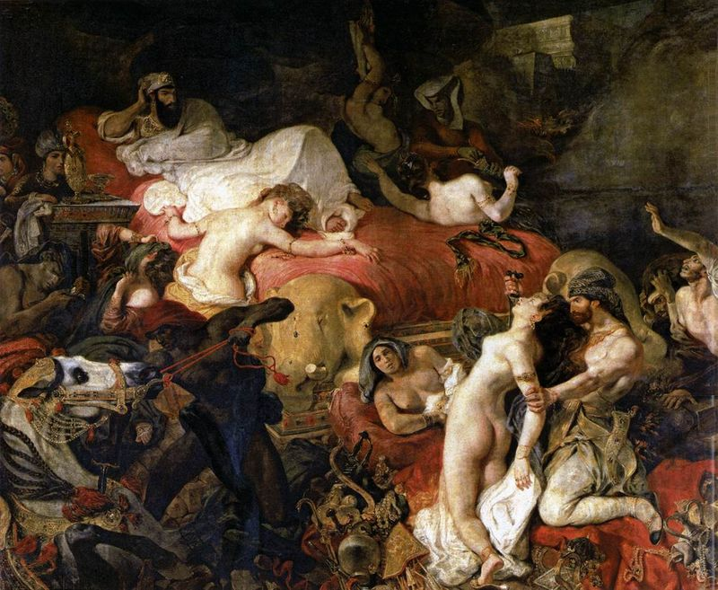 DELACROIX-Eugene-The-Death-of-Sardanapalus