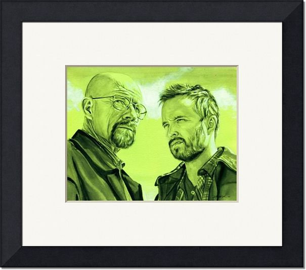 Walter-White-and-Jesse-Pinkman-Green_art