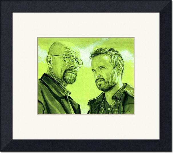 Walter-White-and-Jesse-Pinkman-Green_art